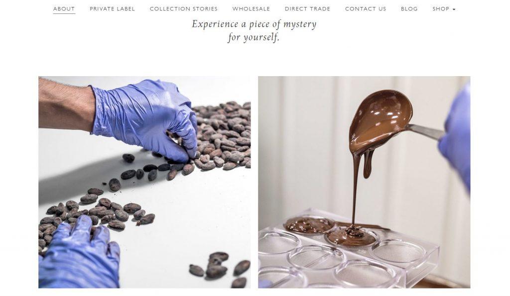 Chocolate Naive e-parduotuve