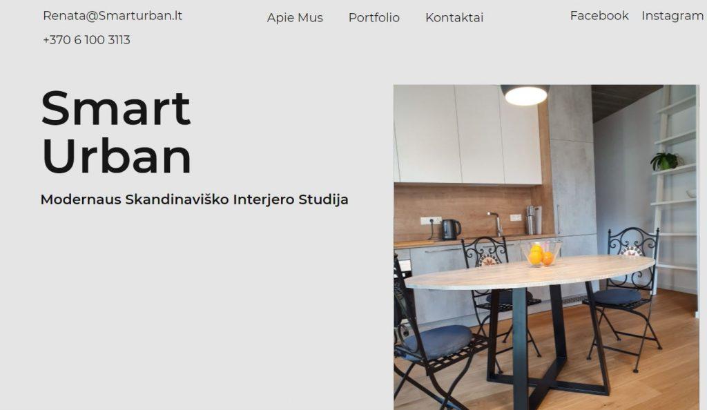 SmartUrban interjero dizainas